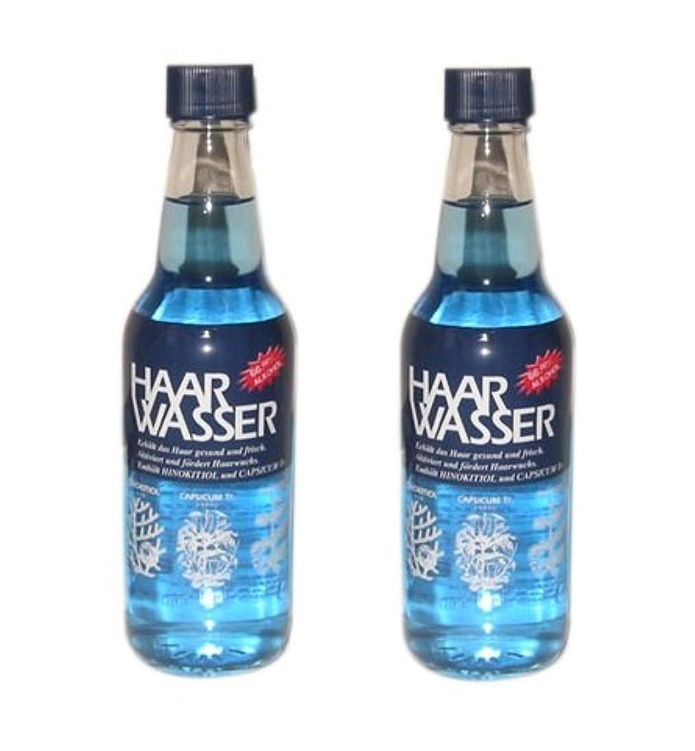 練習した幹連鎖【X2個セット】 HAAR WASSER ハールワッサー ヘアローション 360ml 【国内正規品】
