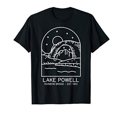 Lake Powell Reservoir 1963 Rainbow Bridge 1910 Utah Arizona T-Shirt