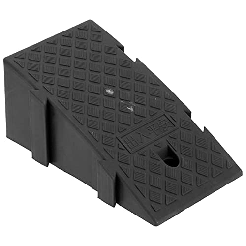 Xndz Rampa de acera, Desgaste de rampa de umbral: para Pendientes de acera para muelles de Carga para garajes de viviendas para entradas de viviendas(Black)