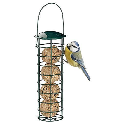 Whuooad Fat Ball Bird Feeder Wild Animal Feeder - Dispensador de bolas de grasa para exteriores