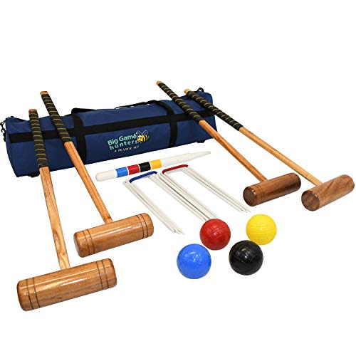 Big Game Hunters Croquet Set