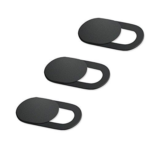 Varadyle 3 Pack Webcam Abdeckung Ultra Dünn Folie Datenschutz Schutz Kamera Abdeckung Fuer Laptop Telefon, Schuetzen Sie Ihre Privatsphaere und Sicherheit, Starke Selbstklebende Block