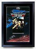 HWC Trading Top Gun Tom Cruise/Kelly McGillis Poster mit