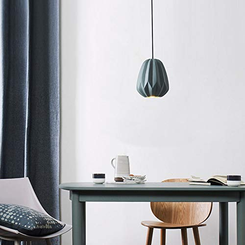 Interieur Ladder creatieve restaurant kroonluchter slaapkamer kleine eettafel Moderne eenvoudige nachtkastje eenhoofd persoonlijkheid hars pompoen licht (15 x 15 x 20 cm)