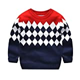 Guy Eugendssg 1-9Yrs Boys Girls Sweaters Autumn Winter Kids Knitted Sweaters Pullover Kids Tops Boys Sweater 9 2T