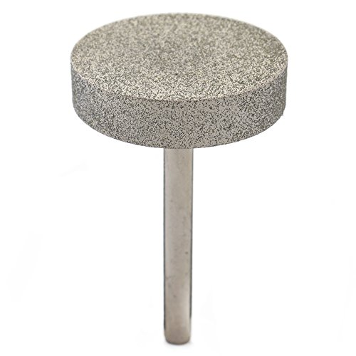 ILOVETOOL Diamond Coated 40mm CYLINDER Cylindrical Mounted Point Grinding Wheel 150 Grit