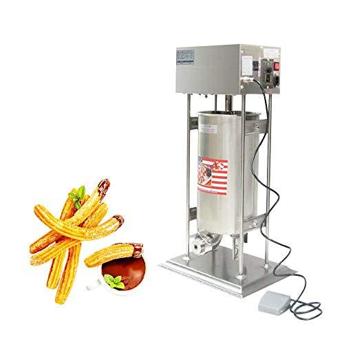 15L churro automática eléctrica de acero inoxidable churro eléctrica español Churros Panificadora 220V-240V