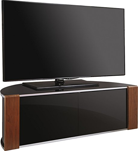 MDA Designs Sirius 1200 Beam Thru Remote-Friendly Gloss Black with Walnut & Oak Interchangeable Trims 32