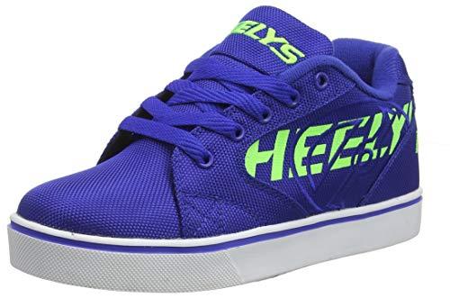 Heelys Herren Vopel Sneaker, Blau (Blue/Neon Green Blue/Neon Green), 38 EU