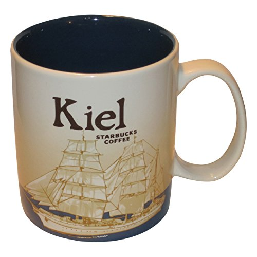 Starbucks City Mug Kiel Coffee Cup Pott Koffie Kiel Icon Serie Germany