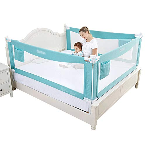 Best Review Of ZHAOHUI-Bed Rails for Toddlers Baby Bed Fence Height Adjustable Barrier Anti-Fall Bed...