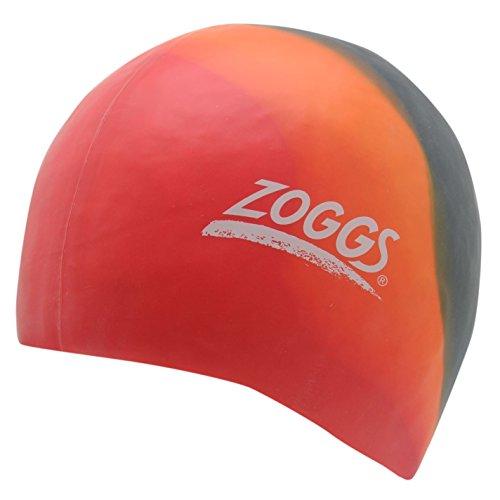 Zoggs Junior Mcolour Caps Chapeau de natation étanche Sport Accessoires - rouge -