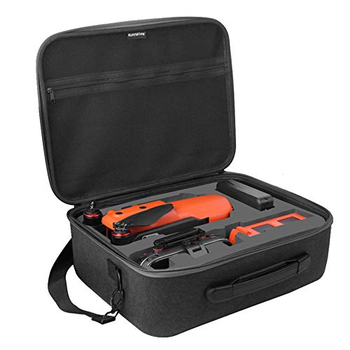 Anbee Portable Carrying Case, Storage Shoulder Bag Travel Hard Shell Box Compatible with Autel Evo II 2 RC Drone Quadcopter