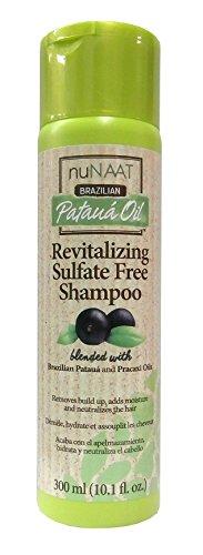 Nunaat Brazilian Pataua Oil Revitalizing Sulfate Free Shampoo 300 ml