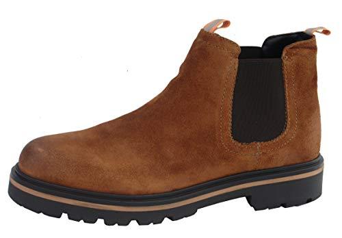 Tommy Hilfiger Damen Reflective Detail Chelsea Boot Stiefeletten, Braun (Winter Cognac 906), 41 EU