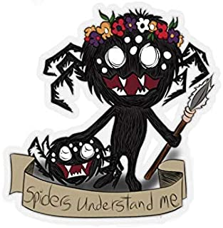 Indoor or outdoor Webber Don't Starve Kiss-Cut Stickers