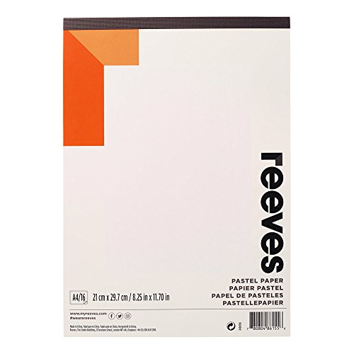 Reeves - Papel para pastel A4 - Blanco