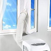Rhodesy Aislamiento de Ventanas para Aire Acondicionado Móvil y Secadora, Adecuado para Unidad de Aire Acondicionado Portátil, Parada de Aire Caliente - Fácil de Instalar 300CM