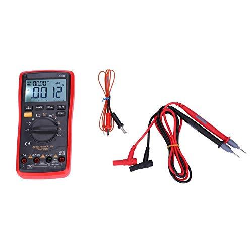 Yongenee Multímetro digital electrónica, 9033 portátil Pantalla LCD digital de temperatura Multímetros 0-40 ℃ Herramientas industriales