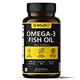 Best Omega 3 Supplements - Boldfit Omega 3 Fish Oil Capsules for men Review