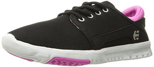 Etnies Etnies Damen Scout W's Sneaker, Schwarz (Black/Pink/Pink), 37.5 EU