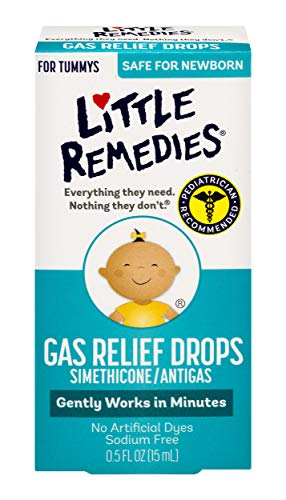 Little Remedies Gas Relief Drops | Natural Berry Flavor | 0.5 oz. | Pack of 1 | Gently Works in Minutes | Safe for Newborns