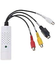 ZUZU Tarjeta de Captura de Video USB Tarjeta de adquisición de Datos USB única Convertidor de señal AV Sintonizador de TV Interno y Captura