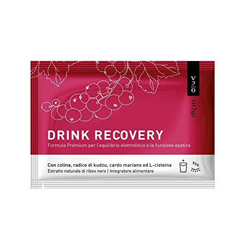 Vit2go DRINK RECOVERY (10 x) - Elettroliti in polvere   Disintossicazione e reidratazione del fegato  soluzione ideale dopo serate alcoliche   ricco di vitamine, magnesio, colina, radice di Kudzu