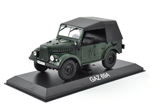 DieCast Metall Modellauto 1:43 Russischer GAZ 69A grün