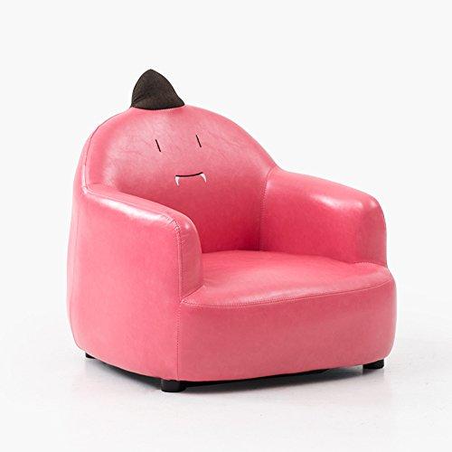 ZR- Chaise de canapé d'enfant Lovely Cartoon PU Matériel Petit canapé Soft Loon Chair (Color : Pink 03)