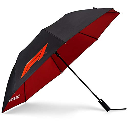 Purchase Fuel For Fans Unisex Formula 1 F1 Tech Collection Large Logo Umbrella, Black, One size