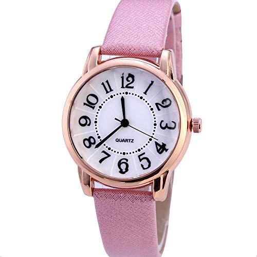 SANDA Orologi da Polso,Le Nuove Signore guardano l'orologio di Moda sull'orologio del Braccialetto-Rosa