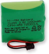 Radio Shack 23-270 Cordless Phone Battery Ni-MH, 3.6 Volt, 1200 mAh - Ultra Hi-Capacity - Replacement for Panasonic HHR-P401 Rechargeable Battery