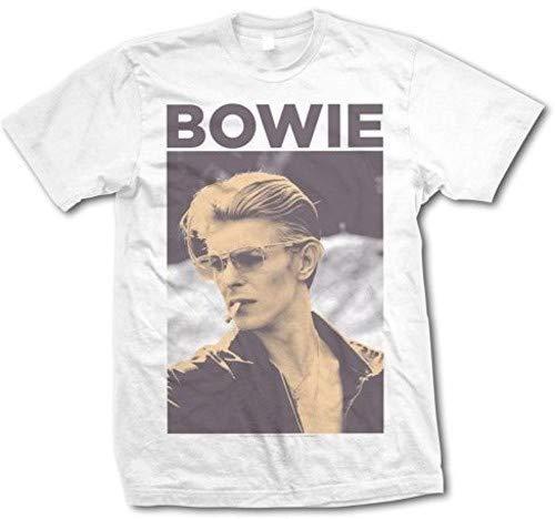 David Bowie - Smoking T-Shirt, Large