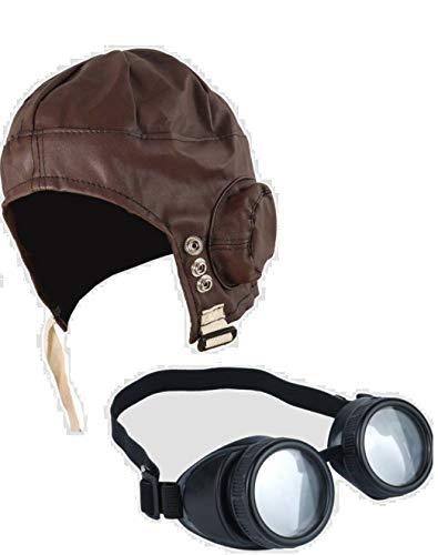 MFD Biggles - Juego de Accesorios para Disfraz de piloto de los años 40