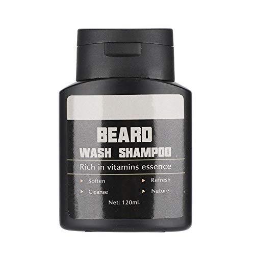 Barba Champú Naturales, Acondicionador Champu para Barba Cuidado Barba Hombre Crecimiento y Salud Champú de Lavado de Barba Mejor Regalo para Hombres Novio Marido Papá