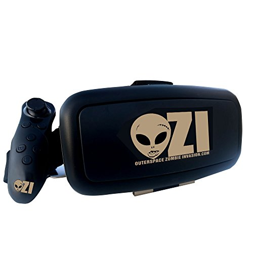OuterSpace Zombie Invasion Virtual Reality Headset and Bluetooth Controller