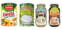 Fruit Salad Set of 4 pcs Florence Kaong Whit, eFlorence Nata de coco Green, Del Monte Fiesta Fruit Cocktail and Tas Young Coconut