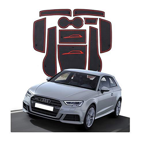 CDEFG per Audi A3 8V Tappetini Antiscivolo, Antipolvere Tappetino in Gommaper per Interni Auto Accessori