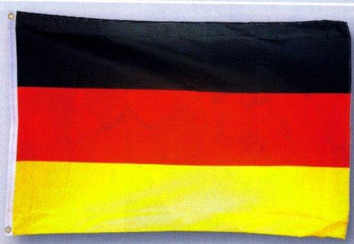 MM Allemagne Drapeau, résistant aux intempéries, multicolore, 250 x 150 x 1 cm, 16278