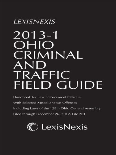 Anderson's Ohio Criminal and Traffic Field Guide