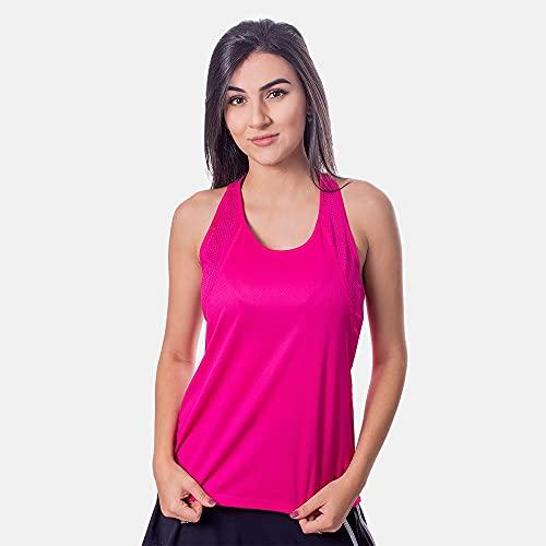NIKE Camiseta de Running para Mujer (Talla L), Color Rojo y Plateado Reflectante