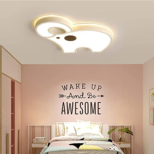 ZHJIUXING ST Led Ceiling Light, Modern Ceiling Lamp, Eye Protection Warm Light, Flush Mount Light Fixture for Living Room, Dining Room Bedroom Kitchen