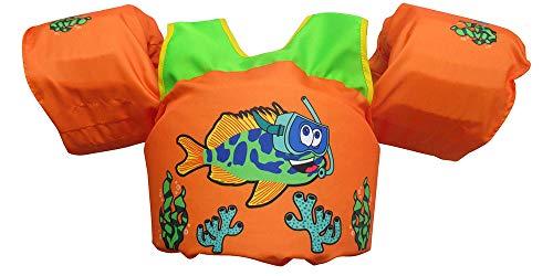 Body Glove Paddle Pals Learn to Swim Life Jacket (Fish)