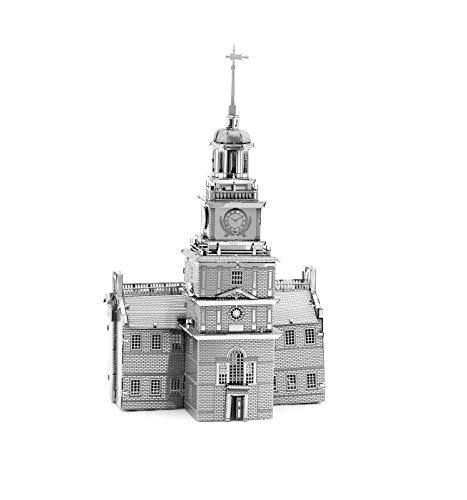 Fascinations Salón de la Independencia de Filadelfia - 3D Metal Model Kit...