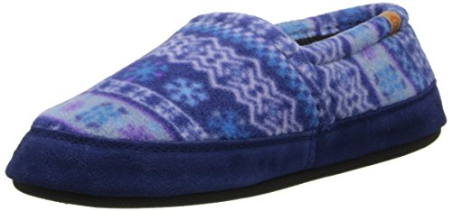Acorn Women's Moc Slipper, Icelandic Blue, Medium/6.5-7.5 M US