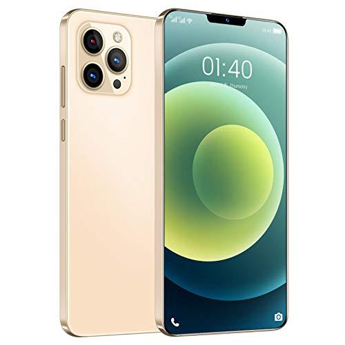 Homfure Teléfono Inteligente con Doble SIM y Doble Modo de Espera - 5200 mAh batería de Iones de Litio de Alta Densidad Phone Phone12 Pro MAX Presenta una combinación de cámara de 32MP