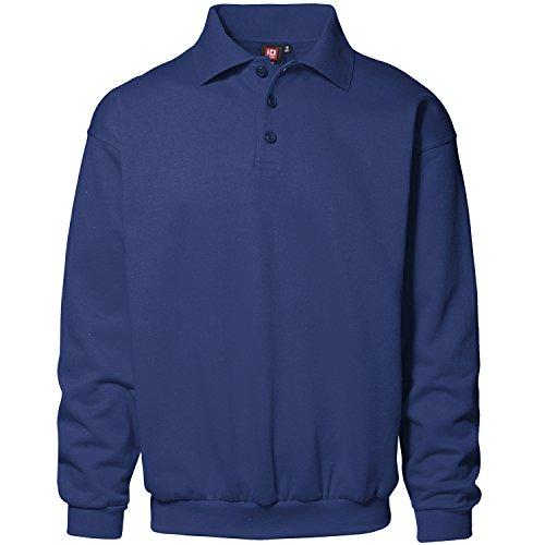 Pionier 41303-4XL Klassisches Polo-Sweatshirt