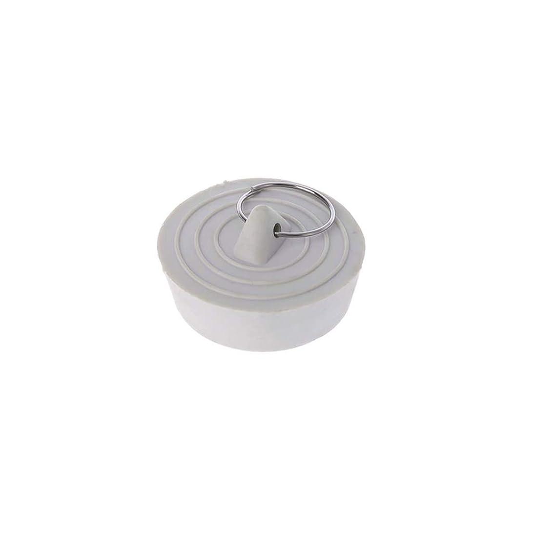 電圧協同ぼかしLamdooラバーシンク排水ストッパープラグ付きバスタブキッチン浴室用1