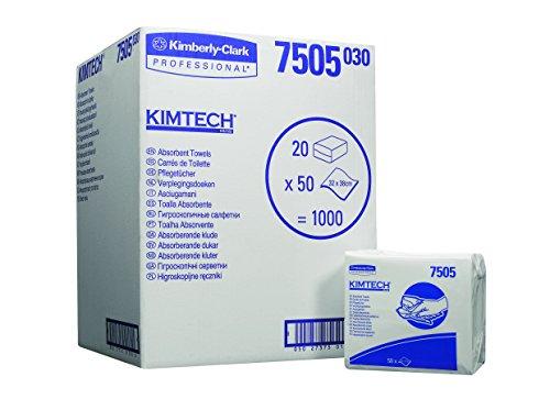 KIMTECH* Toallas Absorbentes Interplegadas (código 7505) 50